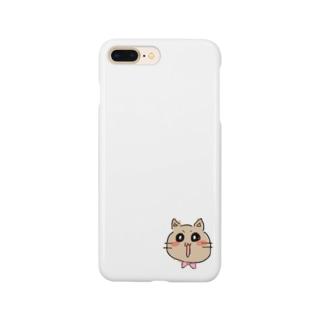 はみ猫ルーちゃん Smartphone cases