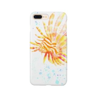 【海水魚】鮮やかミノカサゴ Smartphone cases