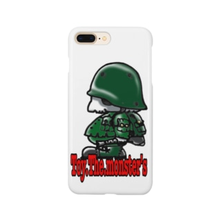 Toy.The.monster's AK side Smartphone cases
