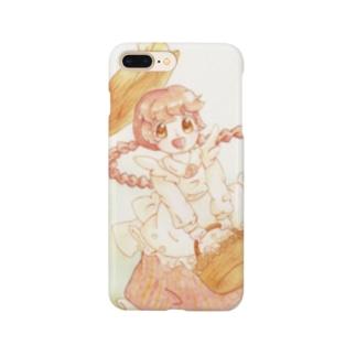 赤毛の女の子 Smartphone cases