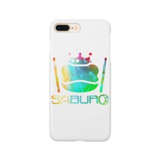 カエル ドラム レインボー Smartphone cases