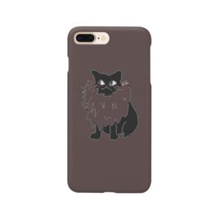 マダム猫 Smartphone cases
