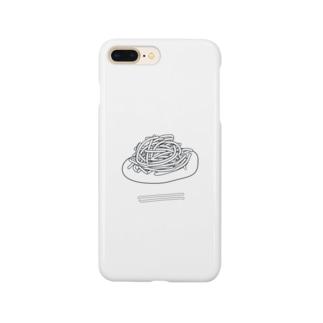 やきそば(無色) Smartphone cases
