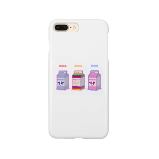 MILK-貧乳・美乳・巨乳- Smartphone cases