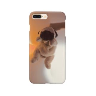 パグのグッズ Smartphone cases