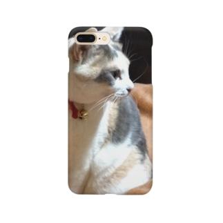 猫にゃん Smartphone cases