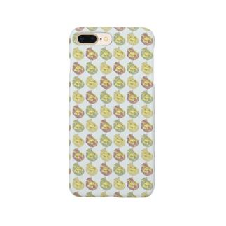 アルマジロチェック Smartphone cases