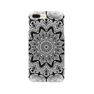 曼荼羅乃型六 Smartphone cases