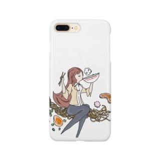 Ra-men girl 〜Shifuku-no-Ippai〜 Smartphone cases