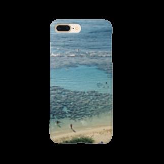トロワ イラスト&写真館のハワイの思い出-4 Smartphone cases
