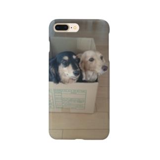 箱入りの犬 Smartphone cases