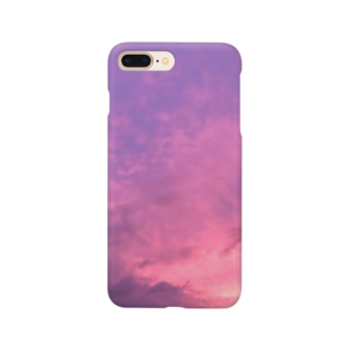pink in the sky Smartphone cases
