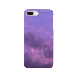 purple in the sky Smartphone cases