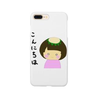 かっぱちゃん Smartphone cases