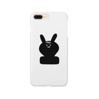 Y-FOODSのうさぎもち Smartphone cases