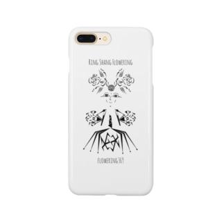 """ドレスを着た花の妖精""""りんさん"""" Smartphone cases"""