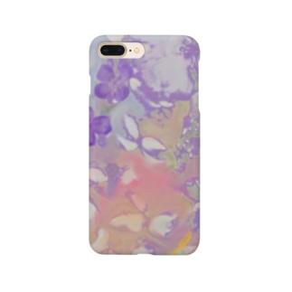 日本画 撫子 Smartphone cases