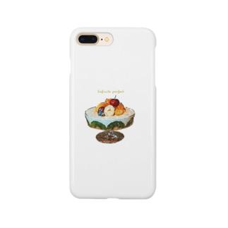 無限パフェ Smartphone cases