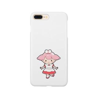 お助けモモちゃんのハッピーグッズ Smartphone cases