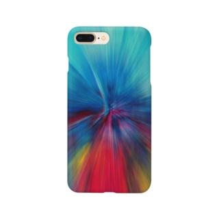 放射状 #1 Smartphone cases