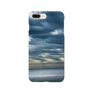 ひかる海 Smartphone cases