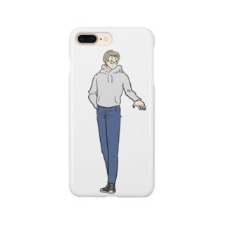 我らがメガネ男子 Smartphone cases