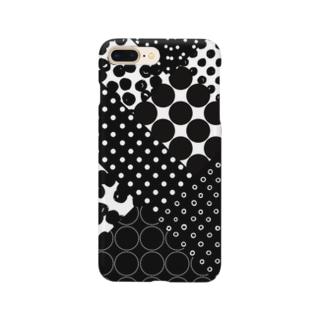 ドットパターンミックス Smartphone cases