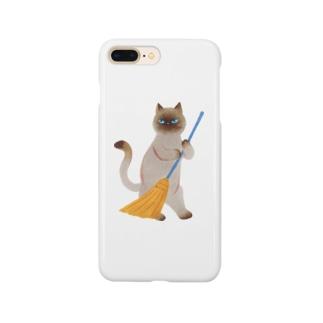 そうじねこ Smartphone cases