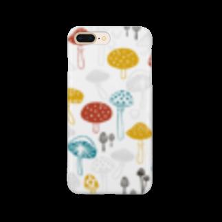 karhu designのきのこ Smartphone cases