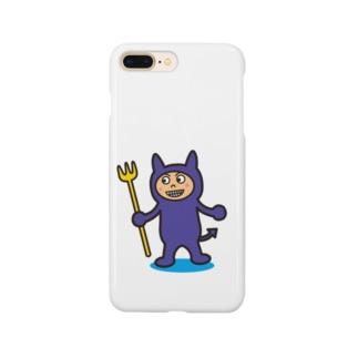 破壊王子・デビルくん Smartphone cases