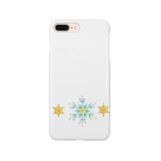 結晶と星 Smartphone cases
