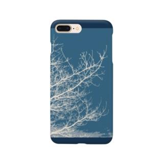 空へ(ブルー) Smartphone cases