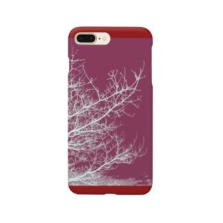 空へ(あかね色) Smartphone cases