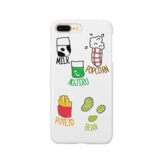 おいっこの好きな物シリーズ Smartphone cases