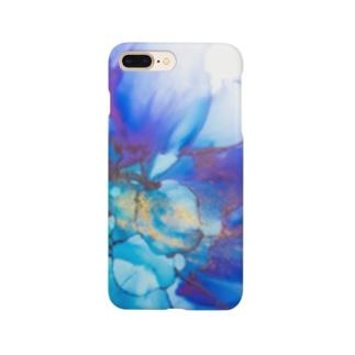 Bloomy blue Smartphone cases