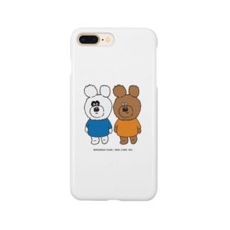 りのくまちゃんズ Smartphone cases