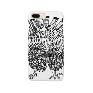 七面鳥くん Smartphone cases