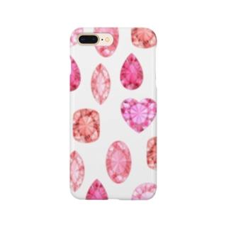 赤い宝石 Smartphone cases