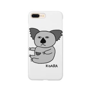 コアラG(下手な絵) Smartphone cases