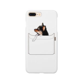 ポケットちわわ Smartphone cases