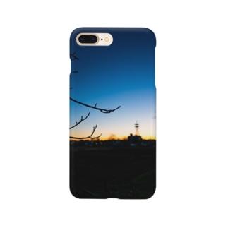 花紺青 Smartphone cases