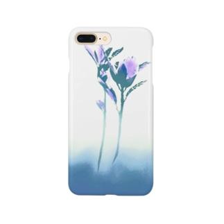 ヨリソッテ(青) Smartphone cases