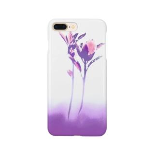 ヨリソッテ(紫) Smartphone cases