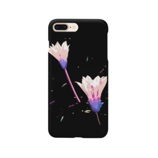 ハジケルハナ(ピンク) Smartphone cases