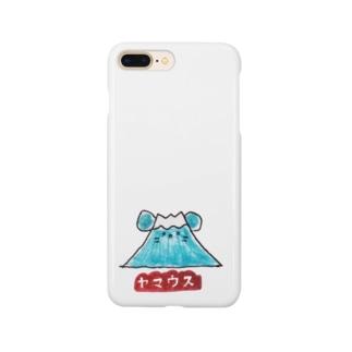 しりとり生物山ウス富士 Smartphone cases