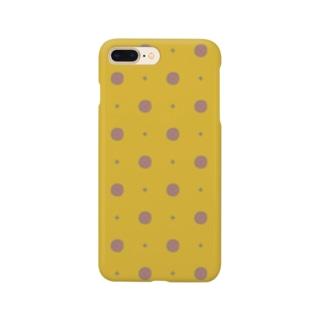 d*ropsのbottan dot Smartphone cases