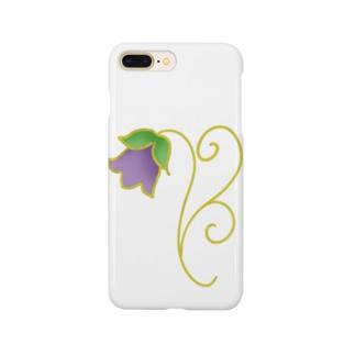 花釣り鐘 Smartphone cases