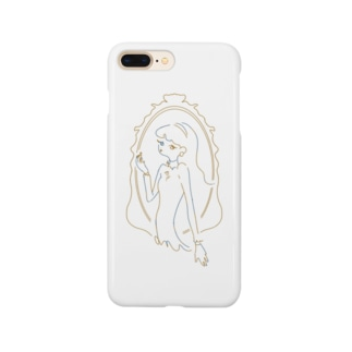 LADY DRESSING /yellow  Smartphone cases