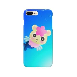 くまぎょ Smartphone cases