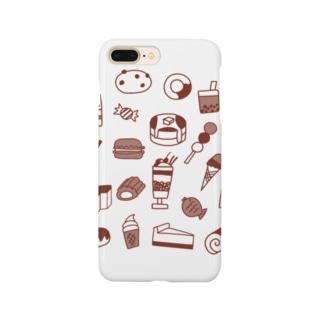 スイーツ大好き Smartphone cases